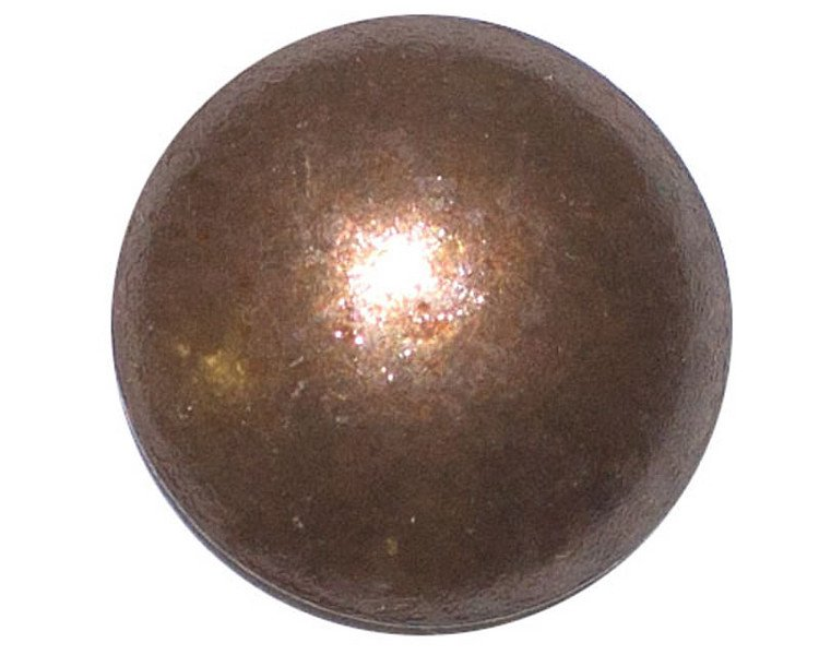50 QTY: C.S.Osborne & Co. No. 6993-AO 5/8 - Antique Oxidize Nail - Low Domed / p