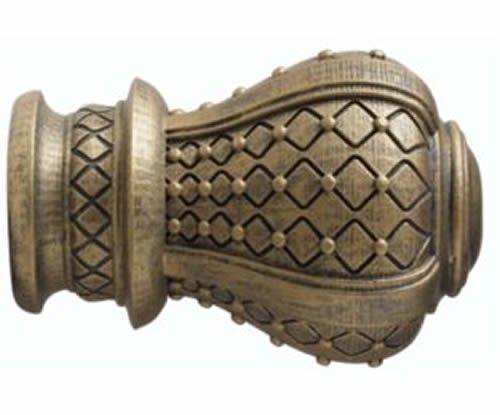 "Kirsch Wood Trends Renaissance  Westminster for 2"" pole, in Golden Heirloom(MPN#"