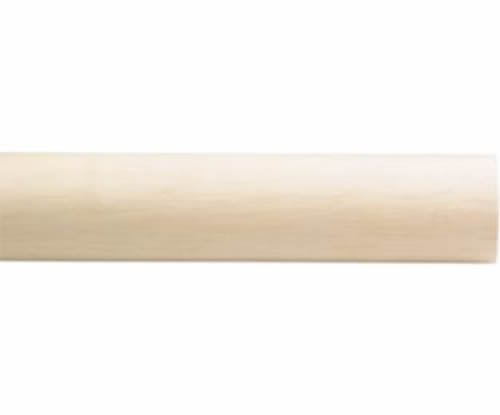 "Kirsch Wood Trends Classics Smooth 3""  Drapery Pole, Unfinished 8 FT  (MPN# 5931"