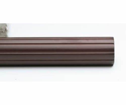 "Kirsch Wood Trends Classics Fluted 3""  Drapery Pole, Mahogany 8 FT  (MPN# 593080"