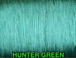 100 YARDS: 1.4 MM, HUNTER GREEN LIFT CORD for Blinds, Roman Shades and More