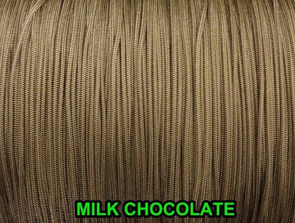 100 YARDS: 1.6 MM, MILK CHOCOLATE LIFT CORD for ROMAN/PLEATED shades &HORIZONTAL