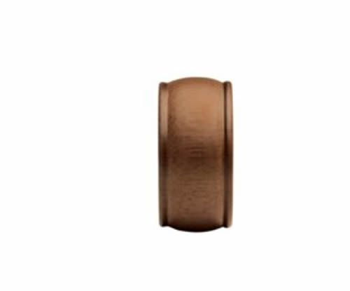 "Kirsch Wood Trends Classics End Cap Finial, for 2"" pole, Walnut (MPN# 46808085)"