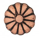 1000 QTY: C.S.Osborne & Co. No. 7001-OCRL 1/2 - Daisy Old Copper Lacquered Rolle