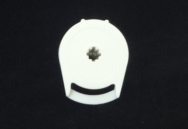 Rollease R8 Clutch for 1.5 inch Tube, in white