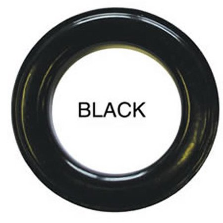 10 QTY: C.S. Osborne & Co. No B1-12 GLOSSY BLACK  Professional Drapery Grommets