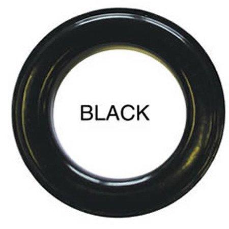 20 QTY: C.S. Osborne & Co. No B1-12 GLOSSY BLACK  Professional Drapery Grommets