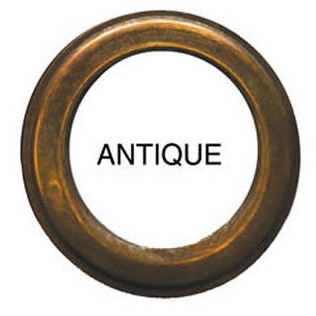 10 QTY: C.S. Osborne & Co. No A1-15 ANTIQUE PLAIN  Professional Drapery Grommets