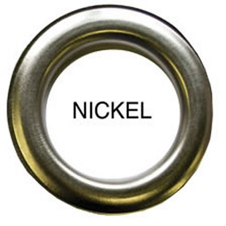 10 QTY: C.S. Osborne & Co. No N2-10 NICKEL Spurred  Professional Drapery Grommet