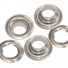 144 QTY-Osborne N3-0-NICKEL Self Piercing Grommet & Plain Washers, size 0(13164)