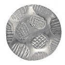 "50 QTY:Osborne No. 6901-NP 1/2 -Oxford Nickel Plated Nail/post : 1/2"" head:7/16"""