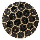 "100 QTY:Osborne  6910-BL -Honey Comb Bronze Lacquered Nail/post :1/2"" head:7/16"""