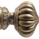 """Kirsch Wood Trends Renaissance  Kensgton for 2"""" pole, Golden Heirloom( 21040880)"""