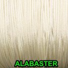 50 FEET: 0.9 MM, ALBASTER Professional Grade Nylon Lift Cord /Window Treatments