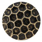 "1000 QTY:Osborne #6910-BL -Honey Comb Bronze Lacquered Nail|post:1/2"" head:7/16"""