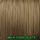10 YARDS: 1.6 MM MILK CHOCOLATE LIFT CORD | ROMAN/PLEATED shade & blinds