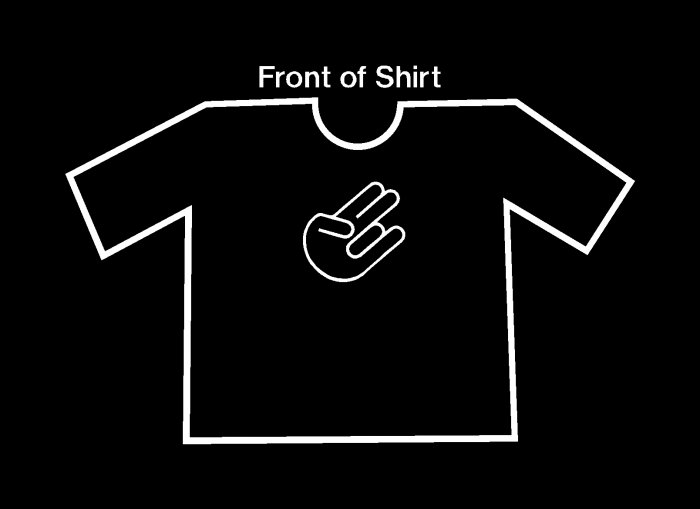 Gotta Have the Shocker Shirt!!!