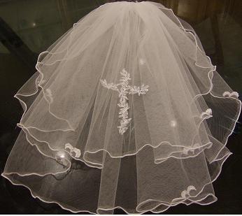 First holy communion veil,WHITE, IVORY  HOLY COMMUNION VEIL