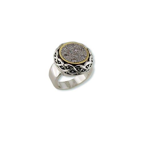 Antique Cubic Zirconia Ring