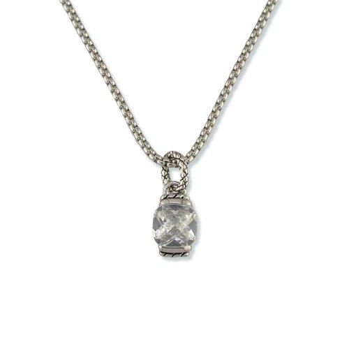 Antique Cubic Zirconia Necklace (N6151)