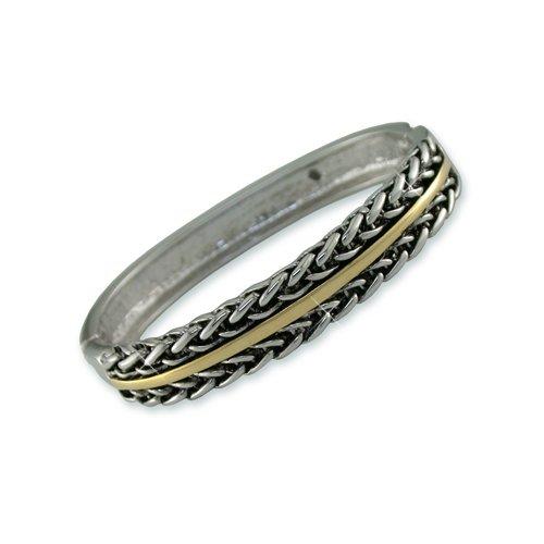 """Antique """"Chains"""" Bangle Bracelet"""