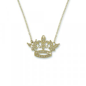 'I am a QUEEN' Gold Necklace (N6280GX)