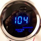 "2"" DIGITAL WATER TEMP GAUGE CHROME WITH BLUE LED"