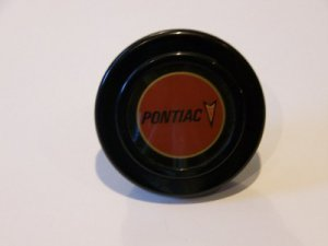 PONTIAC HORN BUTTON - BRAND NEW 2 INCH - Made in Italy