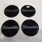 Oldsmobile wheel center cap hub cap center decal 43mm set of 4