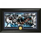Cam Newton Bronze Coin Panoramic Photo Mint