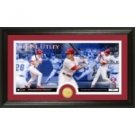 Chase Utley Bronze Coin Panoramic Photo Mint