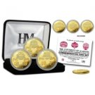 Alabama 3 Time Champs in the BCS Era Gold 3 Coin Set