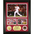 "Albert Pujols Infield Dirt Coin ""Showcase"" Photo Mint"