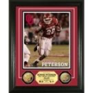 Adrian Peterson University of Oklahoma 24KT Gold Coin Photo Mint