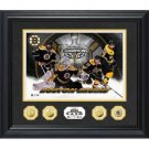 Boston Bruins '11 SC Champs SE 24KT Gold Coin Photo Mint