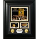 Boston Bruins 2011 Stanley Cup Banner Raising Marquee 24KT Gold Coin Photo Mint