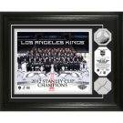 LA Kings Stanley Cup Champs Game Used Net Silver Coin Photomint