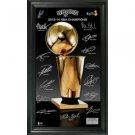"San Antonio Spurs 2014 NBA Finals Champions ""Trophy"" Signature Photo"