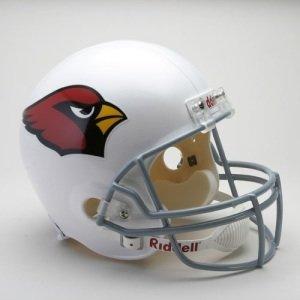 """Arizona Cardinals Full Size """"Deluxe"""" Replica NFL Helmet"""