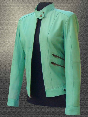 Ladies Fshion Leather Jacket
