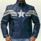 CAPTAIN AMERICA PU LEATHER JACKET