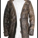 Bane Tom Hardy Batman Dark Knight Rises Handmade Cow Leather Jacket Brown Sizes