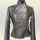 Ladies 2014 Handmade Fashion LEATHER JACKET Black Brown New Collection Sizes