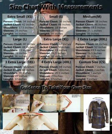 Mens 'BANE' Dark Knight Rises Handmade Real Leather Coat/Jacket Black Sizes