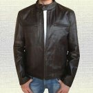 Mark Wahlberg Contraband Handmade Genuine Vintage Leather Jacket S-5XL   Brown