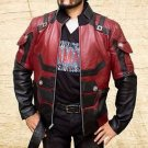 Matt Murdock Daredevil Charlie Cox Handmade Red Synthetic Leather Jacket