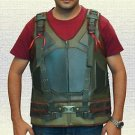 Batman Bane Faux Leather Biker Vest Green Color In All Sizes Available