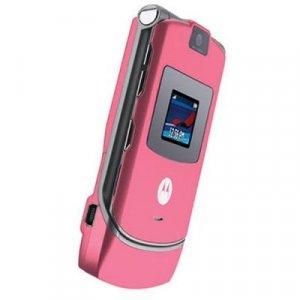 Motorola RAZR V3 - Limited Edition Satin Pink. FREE SHIPPING !