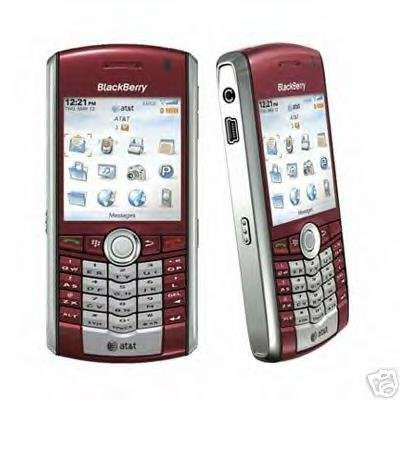 Blackberry 8100 Pearl 'Red' PDA/Mobile Cellular Phone - FREE SHIPPING!