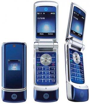 Motorola KRZR K1 - Blue - FREE SHIPPING!